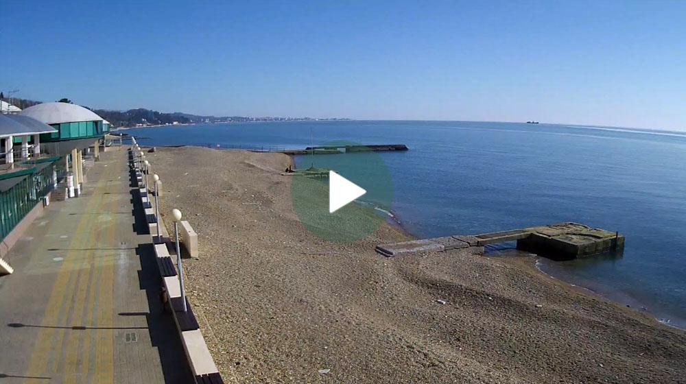 веб камера на пляже пансионата спутник так