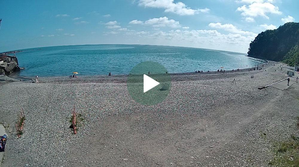 Камера на пляже диком фото